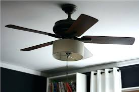 drum shade ceiling fan light kit image of style linen dr