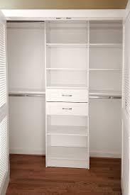 image of custom closet organizers narrow