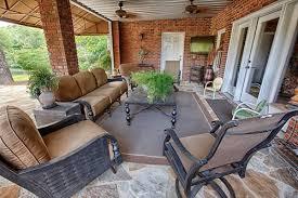 covered porch furniture. tuscaloosa lake backyard landscaping network covered porch furniture t