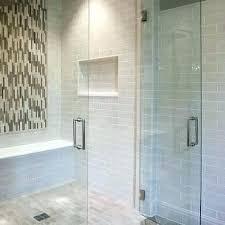 grey shower tile light gray tiles design ideas brilliant white grout black and
