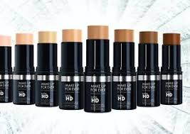 make up for ever stick foundations for