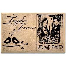 together forever customised plaque