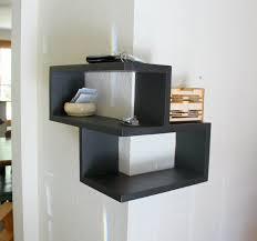 modern corner shelf floating wrap