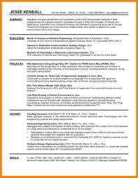 Resume Templates For Interns Resumes Internships Examples Example