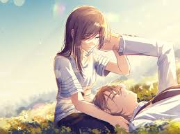 Cute Anime Couple Kissing Hd Wallpaper ...