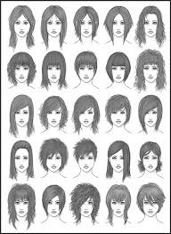 Female Hairstyle Names womens hair set 2 by darksheikah on deviantart 7698 by stevesalt.us