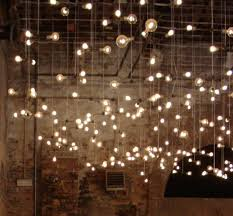 Rustic Wedding Lighting Wedding Ideas Lightbulbwallinstallation Rustic Lighting
