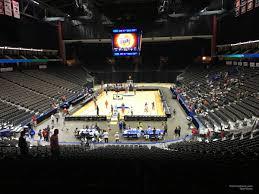 Vystar Veterans Memorial Arena Section 108 Basketball