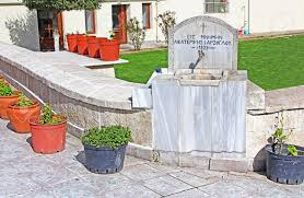 The Source Of Holy Water On The Site Of Church Of St Mary Of