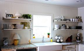 Shelves In Kitchen Kitchen Shelving With Simple Design The Kitchen Inspiration