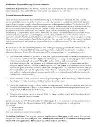 Nursing Personal Statement Examples Personal Statement Nursing Rome Fontanacountryinn Com
