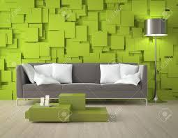 elegant green interior design interior design of a modern interior room with green wall made