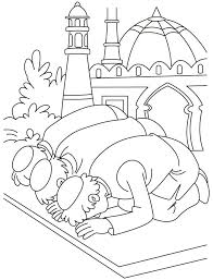 Islamic Coloring Pages 1 Lesson Ramadan Islam Islam For Kids