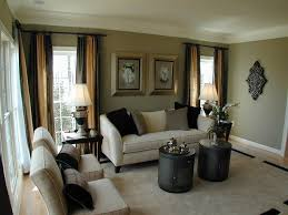 gold curtains living room. mid-sized elegant enclosed living room photo in dc metro gold curtains o