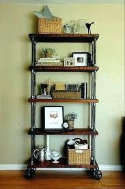 industrial pipe shelf shelves gas plumbing modernist ideas built with iron black kitchen black pipe shelves