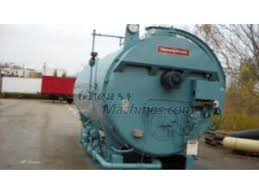 reconditioned cleaver brooks model cb 200 600 boiler 600hp 150 loading