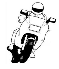 Beautiful motorcycle with motorcycle clipart
