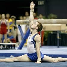 floor gymnastics splits. Brilliant Gymnastics 2004 USA Gymnastics National Team Member Morgan Hamm Performs A Stride Split  On The Floor For Floor Splits