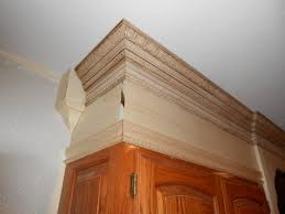 Kitchen Crown Moulding How To Install Crown Molding On Kitchen Cabinets Flamen Kitchen