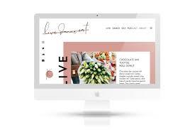 Lavi Design Lifestyle Blog Design Website By Studio Lavi Web Design