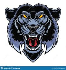 Angry Panther Head Stock Vector Illustration Of Monster 141543189