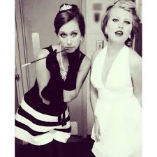 it was a audrey hepburn and marilyn monroe