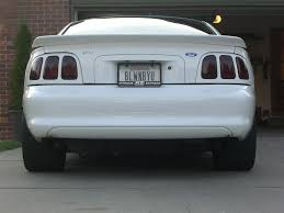 I need opinions! Should I do 96-98 tail lights? - Ford Mustang ...
