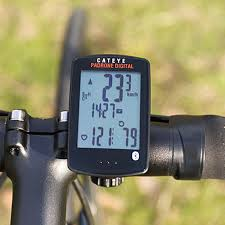 Us 131 81 Cateye Padrone Digital Cycling Computer Large Screen Automatic Sensor Bicycle Speed Cadence Sensor Stopwatch Computer Cc Pa400b In Bicycle