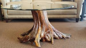 wood stump coffee table unique image of unique tree stump coffee table designs