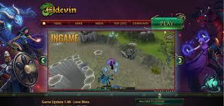3d mmorpg eldevin is a browser based