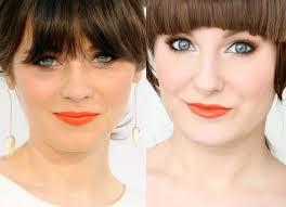 zooey deschanel makeup