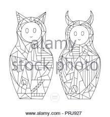 Kawaii Cute Ragazze Caratteri Illustrazione Vettoriale Design