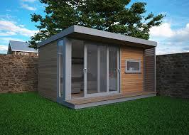 build a garden office. budget garden office build a d