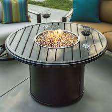 the banchetto round firepit is a