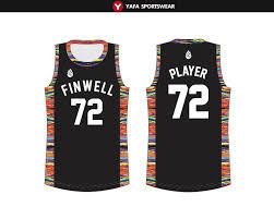 How To Make Sublimation Jersey Design Customize Basketball Uniforms Yafa Sports Wear