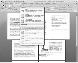 Example Word Documents 4 Setting Up The Document Margins Page Breaks And More Word