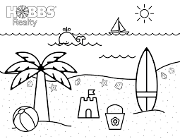 Take a look at our enormous collection of festive holiday coloring sheets, all completely. Beach Coloring Pages For Kids Holden Beach Blog