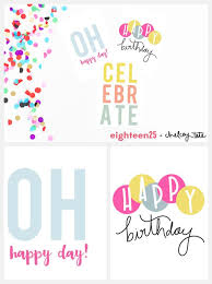Printable Birthday Note Cards Free Printable Birthday