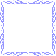 fancy frame border transparent. Free Blue Borders And Frames. Fancy Border Frame Clipart Transparent O
