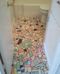 this bathroom floor in a house i found on zillow i can t decide if i love it or it