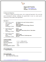 Communication Resume Custom Over 60 CV And Resume Samples With Free Download Electronics And