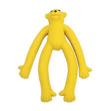 Latex monkey dog toy