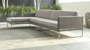 crate and barrel outdoor furniture. Crate And Barrel Outdoor Cushions Dune 3 Piece Sectional Sofa With Cushion . Furniture