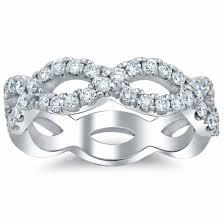 infinity diamond wedding band. infinity diamond wedding band - click to enlarge