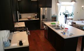 image of can you paint kitchen countertops