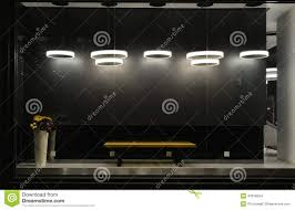Used Lighting Store Empty Store Window With Led Light Bulbs Led Lamp Used In