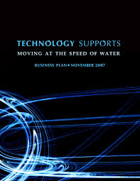 business document designs by shanelle roberts at com cover page for technology supports business plan