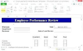 Microsoft Performance Reviews Free Employee Performance Review Template Excel Templates Documents
