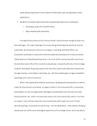 essay describing a personal experience how to write a personal experience essay sample papers
