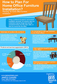 office furniture planning. How To Plan For Home Office Furniture Installation Infographic Planning